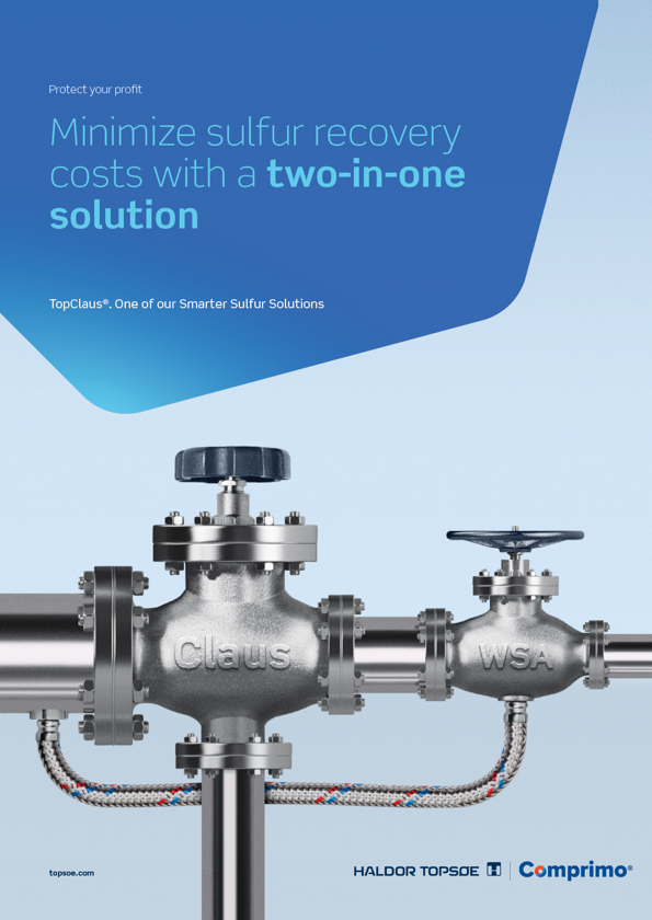 TopClaus® - minimize your sulfur recovery costs with a two-in-one solution