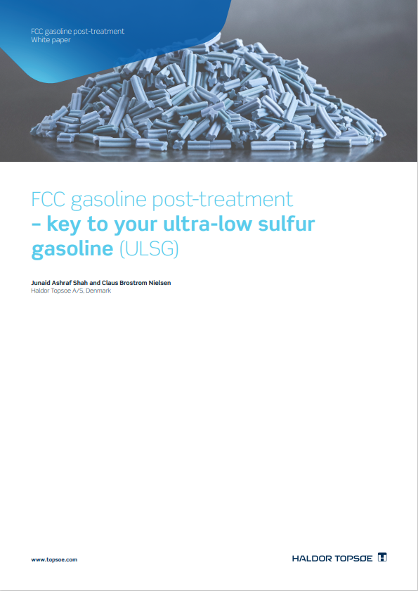 FCC gasoline post-treatment - key to your ultra-low sulfur gasoline (ULSG)