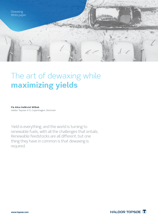 The art of dewaxing, while maximizing yields