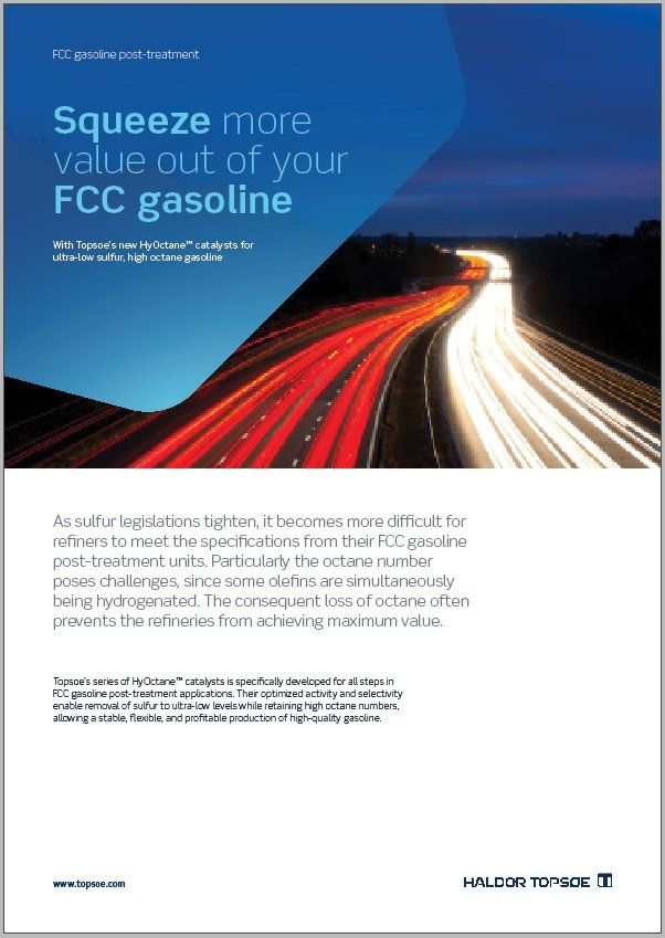 Squeeze more value out of your FCC gasoline