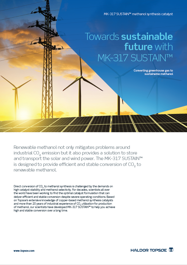 Towards sustainable future with MK-317 SUSTAIN™