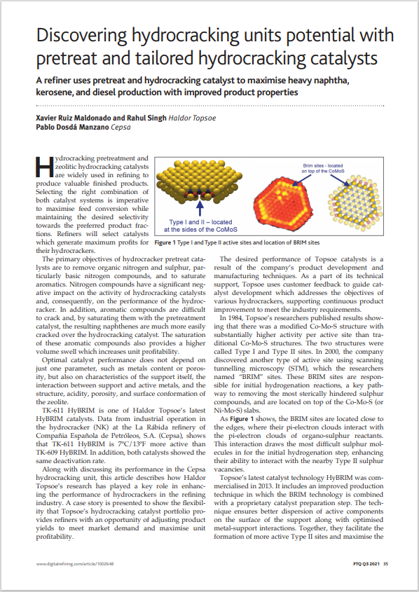 Discovering hydrocracking units potential with pretreat and tailored hydrocracking catalysts