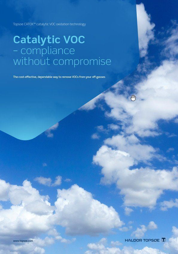 Catalytic VOC - compliance without compromise
